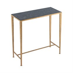 Dimond Home Karelia Console Table in Antique Brass