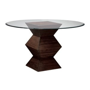 Sterling Hohner Dining Table in Striped Wood