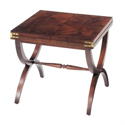 Sterling Aderley End Table in Vintage Mahogany
