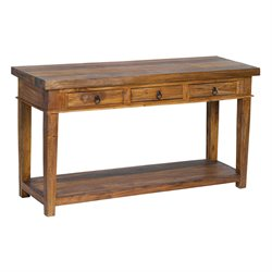 Sterling Malvern Console Table in Natural Stain