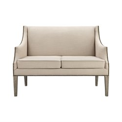 Sterling Lenox Hill Loveseat in Natural
