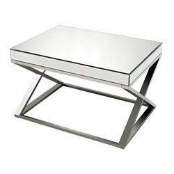 Sterling Klein Coffee Table in Chrome