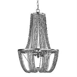 Sterling Thrapston Chandelier in Tea Stain