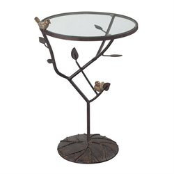 Sterling Kimberly Accent Table in Bronze