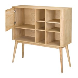 Sterling Draper Bookcase in Light Natural Wood