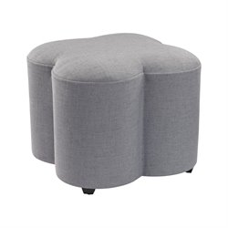 Sterling Ottoman in Gray