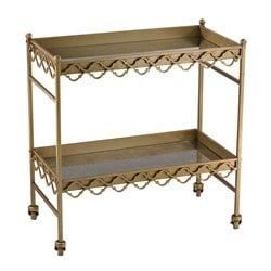 Sterling Bar Cart Bar Cart in Gold