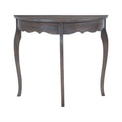 Sterling Console Table in Heritage Gray Stain White Wash