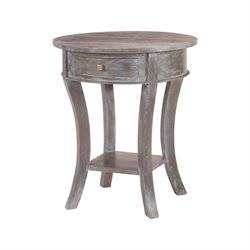 Sterling End Table in Gray Stain No.4
