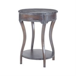Sterling End Table in Heritage Dark Gray Stain