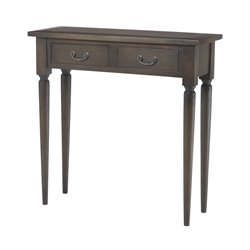 Sterling Fraser Console Table in Heritage Gray Stain