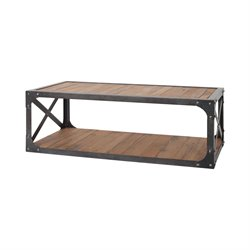 Sterling Jose Coffee Table in Bronze Iron