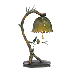 Sterling Perching Finch Table Lamp in Burwell Bronze
