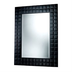 Sterling Helena Decorative Mirror in Black