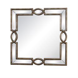 Sterling Syracuse Decorative Mirror in Antique Gold