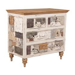 GuildMaster Artifacts Accent Chest in Cream