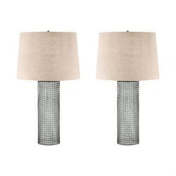 292-S2 Glass Table Lamp in Glass (Set of 2)