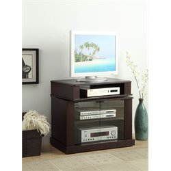 Swivel Top TV Stand in Cherry