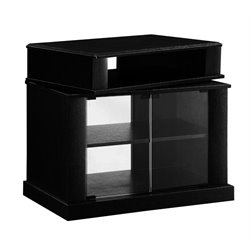 Swivel Top TV Stand in Black