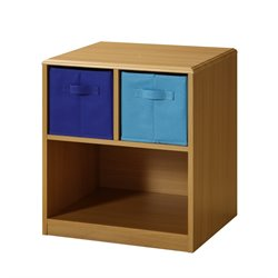 4D Concepts Boy's Night Stand in Beige and Blue