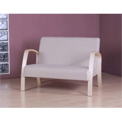 4D Concepts Danish Loveseat in Natural