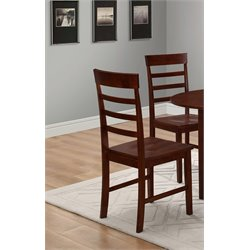 4D Concepts Harrison Dining Chair in Antique Oak (Set of 2)