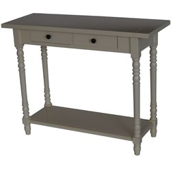 4D Concepts Simplicity Console Table in Buttermilk