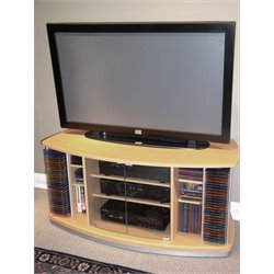 4D Concepts TV Stand in Beech