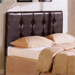 4D Concepts Blackstone Queen Faux Leather Upholstered Headboard