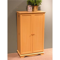 4D Concepts Media Storage Cabinet in Beech