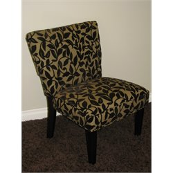 4D Concepts Versize Leopard Print Accent Chair