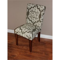 4D Concepts Itaki Parsons Decorative Print Accent Chair