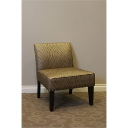 4D Concepts Belinda Animal Print Accent Chair