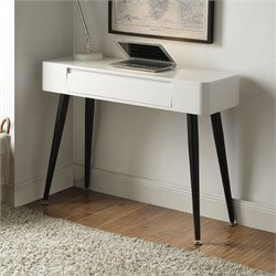 4D Concepts Writing Desk in Black and White