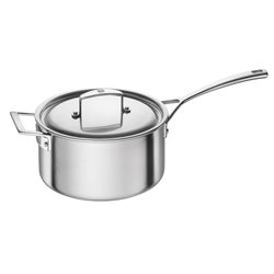 Zwilling J.A. Henckels Aurora 4 qt. Stainless Steel Sauce Pan