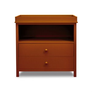 AFG Baby Furniture Athena  Amber 2 Drawer Changer Dresser with Tray