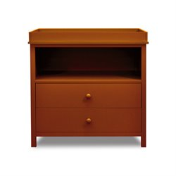Athena Amber 2 Drawer Changing Table with Tray