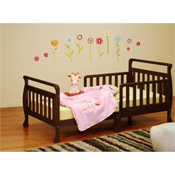 Athena Anna Toddler Bed in Espresso