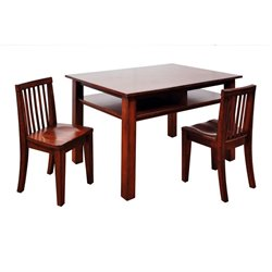 Athena Newton Kid's 3 Piece Table and Chair Set