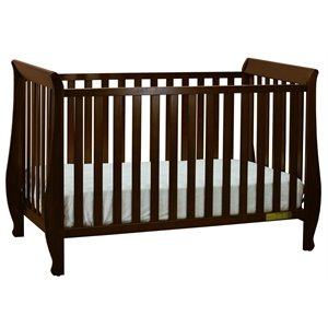 AFG Naomi 4-in-1 Convertible Crib with Mattress Set