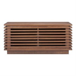Brika Home Small Console in Walnut