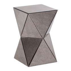 Brika Home Mirror End Table
