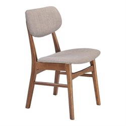Brika Home Dining Chair in Dove Gray