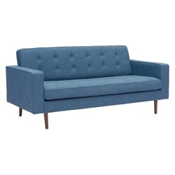 Brika Home Fabric Sofa in Blue