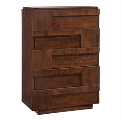 Brika Home High Chest in Walnut