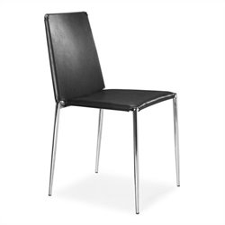 Brika Home Dining Chair in Black