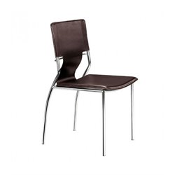 Brika Home Dining Chair in Espresso