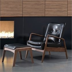 MER-1504 Bully Lounge Chair and Ottoman