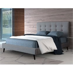 MER-1504 Modernity Upholstered Bed in Gray
