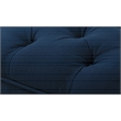 Brika Home Tufted Ottoman in Midnight Blue